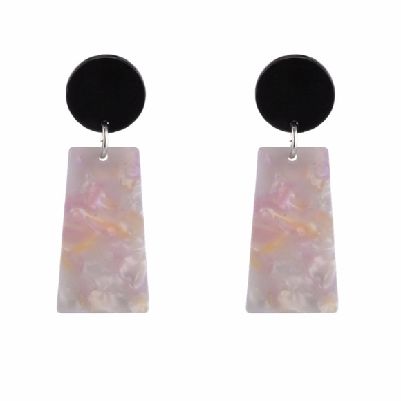 024a51acb4c3e VELMA   Acrylic Trendy Drop Dangle Earrings Boutique